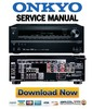 Thumbnail Onkyo HT-RC460 Service Manual and Repair Guide