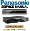 Thumbnail Panasonic DMR-HCT130 HCT230 Service Manual Repair Guide