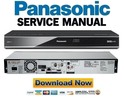 Thumbnail Panasonic DMR-HW120 HW220 Service Manual Repair Guide