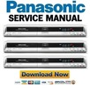 Thumbnail Panasonic DMR-EH55 EH55P9 EH55PC9 Service Manual Repair Guide