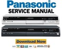 Thumbnail Panasonic DMR ES10 ES10P DMR ES10PC Service Manual Repair Guide