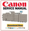 Thumbnail Canon imageRUNNER ADVANCE PRO iR ADV C9075 C9065 C7065 C7055 Service Manual + Parts List