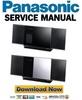 Thumbnail Panasonic SC HC37 HC37EC HC37EG HC37EF HC37EE Service Manual
