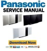 Thumbnail Panasonic SC-HC39 HC39P HC39PC Service Manual & Repair Guide
