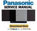 Thumbnail Panasonic SC-HC3DB HC3DBEB Service Manual & Repair Guide