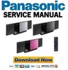 Thumbnail Panasonic SC-HC40 HC40EG HC40EP Service Manual & Repair Guide