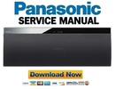 Thumbnail Panasonic SC-NE3 NE3EB NE3EF NE3EG Service Manual & Repair Guide