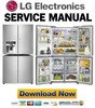 Thumbnail LG GF-5D906SL GR-J31FWSHL Service Manual  & Repair Guide