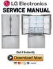 Thumbnail LG LFCS31626S LFCS3162W Service Manual & Repair Guide