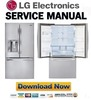 Thumbnail LG LFX29937ST Service Manual  & Repair Guide