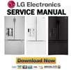 Thumbnail LG LFXS24623S LFXS24623W LFXS24623B Service Manual