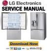 Thumbnail LG LFXS29626S LFXS29626W LFXS29626B Service Manual  & Repair Guide
