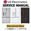 Thumbnail LG LFXS30726S LFXS30726W LFXS30726B Service Manual  & Repair Guide