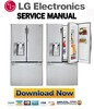 Thumbnail LG LFXS30766S Service Manual  & Repair Guide