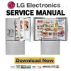 Thumbnail LG LFXS32766S Service Manual  & Repair Guide