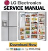 Thumbnail LG LSC22991ST Service Manual  & Repair Guide
