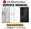 Thumbnail LG LSXS22423S LSXS22423W LSXS22423B Service Manual  & Repair Guide