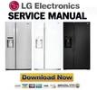 Thumbnail LG LSXS22423S LSXS22423W LSXS22423B Service Manual  & Repair Guide