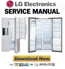 Thumbnail LG LSXS26386S LSXS26466S LSXS26366S Service Manual  & Repair Guide