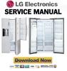 Thumbnail LG LSXS26386S LSXS26466S LSXS26366S Service Manual  & Repair Guide