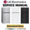 Thumbnail LG LTCS24223S LTCS24223W LTCS24223B Service Manual  & Repair Guide