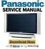 Thumbnail Panasonic PT 50DL54 60DL54 Service Manual and Repair Guide