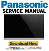 Thumbnail Panasonic TX 58AXW804 58AX800E 58AXR800 Service Manual and Repair Guide