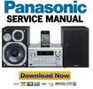 Thumbnail Panasonic SC PMX5 PMX5EG PMX5DB PMX5DBEB Service Manual