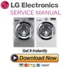 Thumbnail LG WM3370H WM3370HVA WM3370HWA Service Manual and Repair Guide