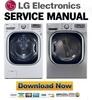 Thumbnail LG WM4270H WM4270HWA WM4270HVA Service Manual and Repair Guide