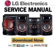 Thumbnail LG CM8430 Hi Fi System Service Manual and Repair Guide