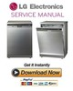 Thumbnail LG D14567IXS Dishwasher Service Manual and Repair Guide