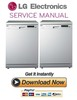 Thumbnail LG LD 1482W4 Dishwasher Service Manual and Repair Guide