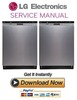 Thumbnail LG LDS5560ST Dishwasher Service Manual and Repair Guide