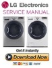 Thumbnail LG DLEX3570V DLEX3570W Service Manual and Repair Guide
