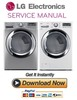 Thumbnail LG DLGX3371V DLGX3371W Service Manual and Repair Guide