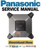 Thumbnail Panasonic KX-TS730S Service Manual