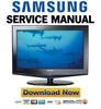 Thumbnail Samsung LN-S3251D S3252D S2651D S4052D S4051D Service Manual