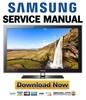 Thumbnail Samsung LN32C550J1F LN37C550J1F LN40C550J1F LN46C550J1F Service Manual