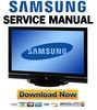Thumbnail Samsung PS50P5H PS50P5HX Service Manual and Repair Guide