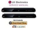 Thumbnail LG BP630 Blu Ray Player Manual de Servicio