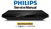 Thumbnail Philips BDP2100X Blu Ray Player Service Manual