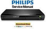 Thumbnail Philips BDP2110 Blu Ray Player Service Manual