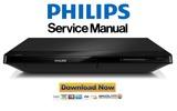 Thumbnail Philips BDP2180K Blu Ray Player Service Manual
