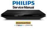 Thumbnail Philips BDP2180X Blu Ray Player Service Manual
