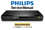 Thumbnail Philips BDP2190 Blu Ray Player Service Manual