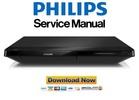 Thumbnail Philips BDP2200 Blu Ray Player Service Manual
