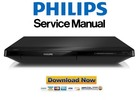 Thumbnail Philips BDP2205 Blu Ray Player Service Manual