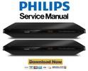 Thumbnail Philips BDP3490 Blu Ray Player Service Manual