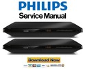 Thumbnail Philips BDP3490M Blu Ray Player Service Manual